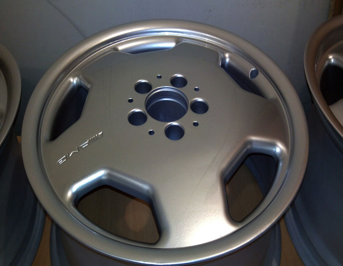 Покраска серый металик